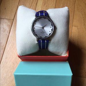 Kate Spade Royal Blue Watch